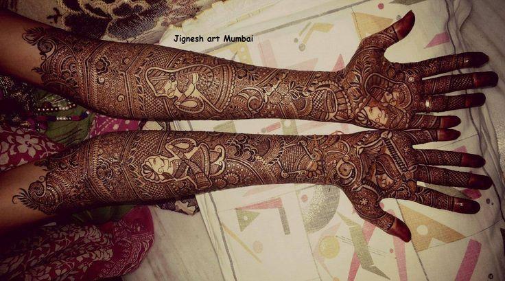 Heavy-Bridal-Dulhan-Mehndhi