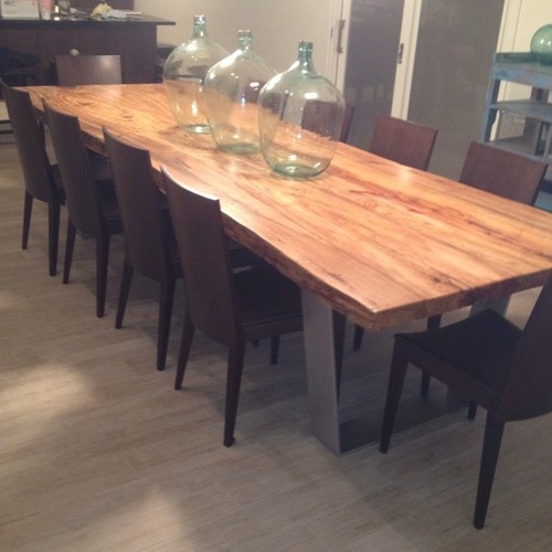 Pecan Mesquite Live Edge Tables Dining Or Conference
