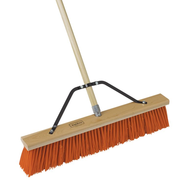 "Jensen Harper 589618 18"" Orange Broom Head"