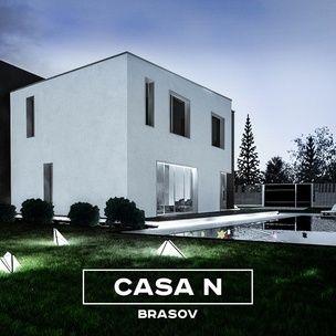 Residential Program • House in Brasov • Romania • night render