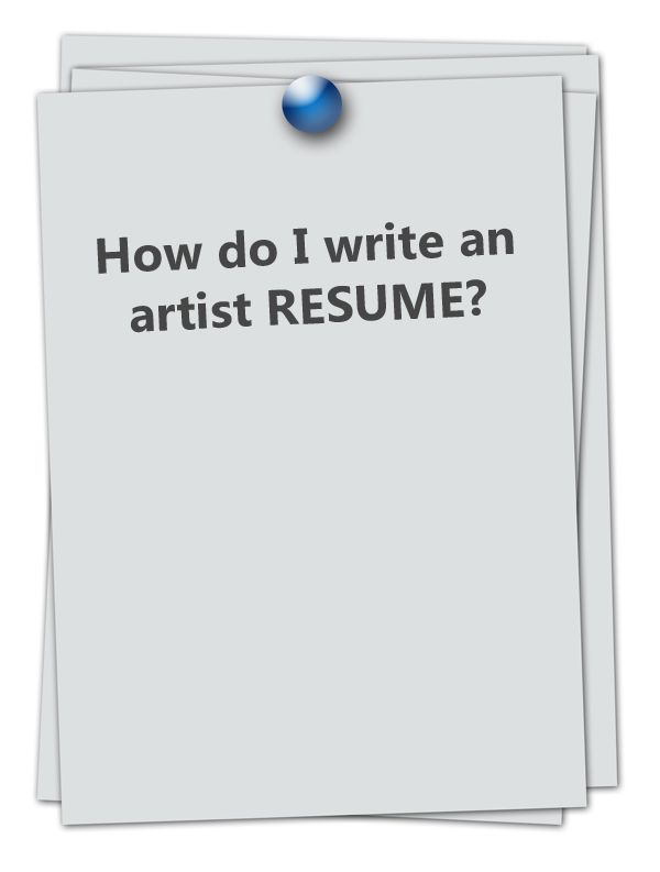 47 best For the Artist images on Pinterest Business tips, Snood - example of artist resume