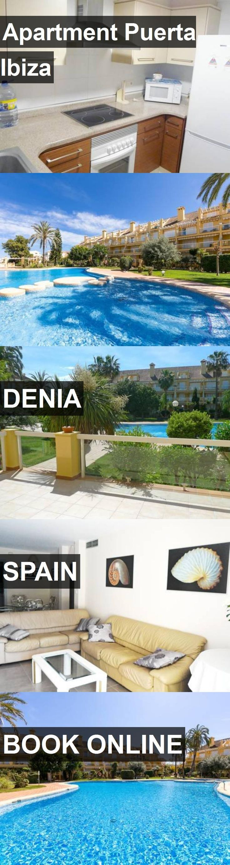 Hotel Apartment Puerta Ibiza in Denia, Spain. For more information, photos, reviews and best prices please follow the link. #Spain #Denia #ApartmentPuertaIbiza #hotel #travel #vacation