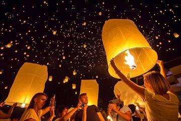 Cheap Luxury Holidays South East Asia – Thailand Sky Lantern ...