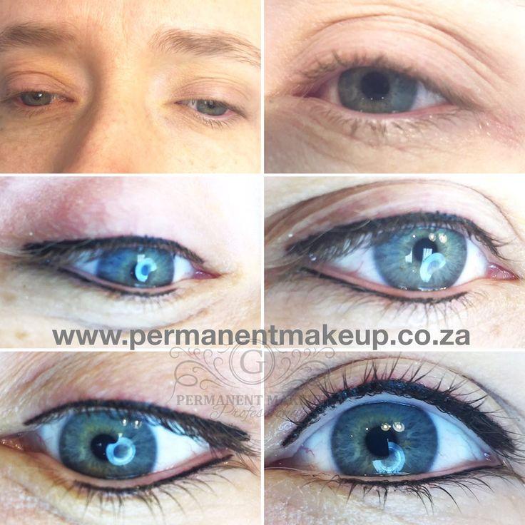 We used Black Mochaccino and designed a softer frame for her beautiful blue eyes 🌸  #permanentmakeupbyGwendoline #PMUbyG #17yearsexperience #eyeliner #naturallooking #blueyes #gorgeouseyes #Allabouttheeyes #bright #blackmochaccino #softer #permanentmakeup #PMU #artist #expert #bestintown #bestinthebusiness #saturdayclient #weloveourjob