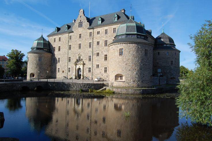 Il castello di #Örebro città svedese nella provincia storica di #Närke nella #Svezia centrale