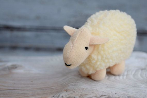Sheep Decor Little Lamb Babe the Movie Maa by SweetPetuniaVintage