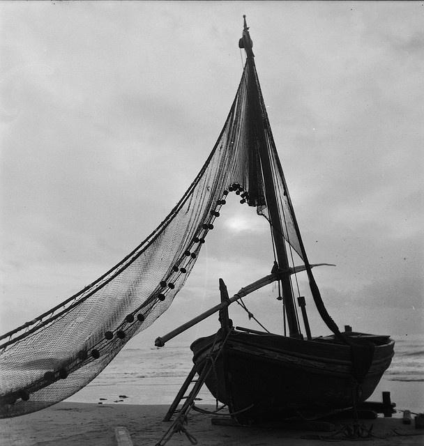 barca, costa brava 1942, via Flickr.