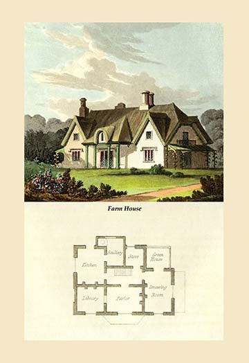 Painting Images for the Design and Décor of a Country Home, Manor or Cottage…