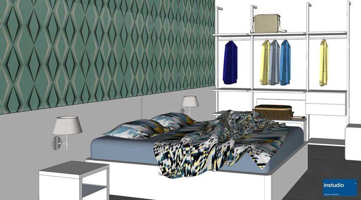 Elementi d'arredo dall'aspetto pulito e funzionale, materiali moderni e resistenti, accenti di colore alle pareti. Questo il progetto che abbiamo realizzato per gli appartamenti di un residence in città.