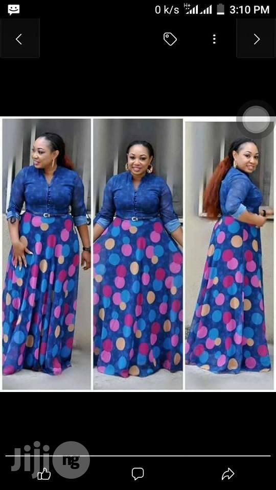 ebf99c911a0e8 Poker Dots Long Turkey Gown for sale in Lagos Island
