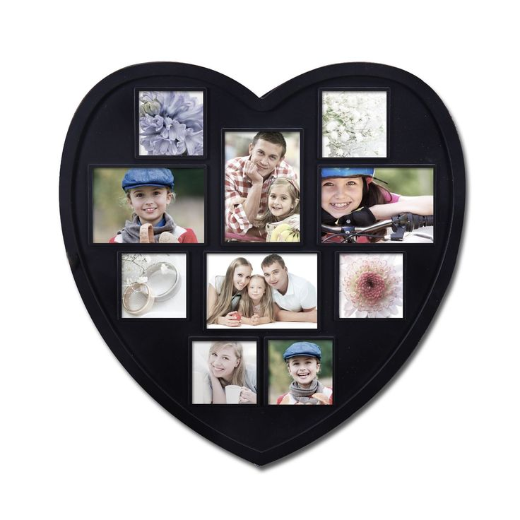 The 25+ best Heart shaped photo collage ideas on Pinterest | Heart ...