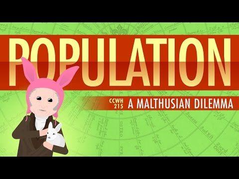 Population, Sustainability, and Malthus: Crash Course World History 215 - YouTube