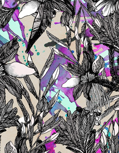Lital Gold - Textile Design & Illustration - Textile Print*