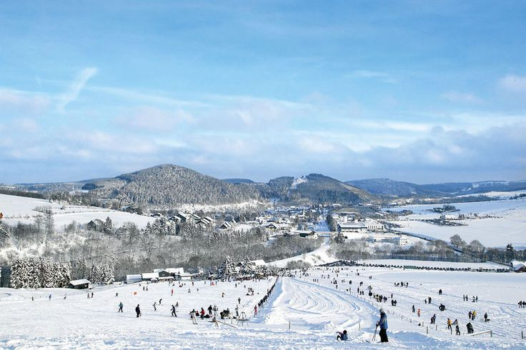 Wintersport im Hochsauerland: der 6000-Einwohner-Ort Willingen.