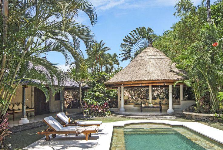 Villa 2 pool at Villa Kubu, Seminyak, Bali