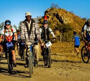 Riding in rural southern Africa (Matabeleland, Zimbabwe)