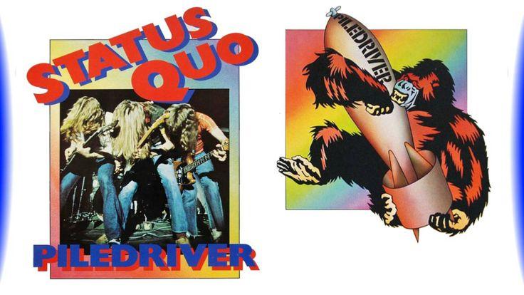 Boogie / Psych. Rock - Status Quo - Piledriver (1972)