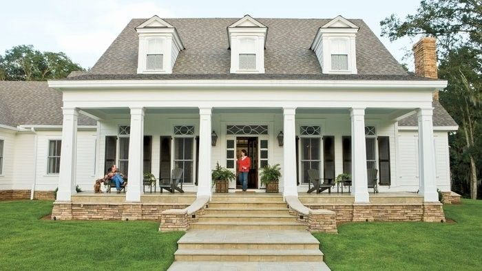 Southern Living House Plans With Porches Fresh 20 Best Louisiana House Plans Southern Li Craftsman House Plans Southern House Plans Farmhouse Style House Plans