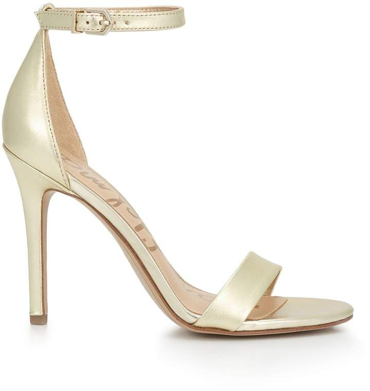 heel is effortlessly sophisticated. This model is also versatile—it comes in chic nude, elegant black, or an assortment of graphic colors. Wear Amee with an evening dress for a knockout impression. Available in other colors too. #prom #wedding #eveningdresses #sandals