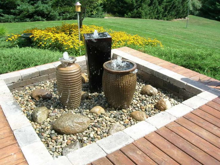 water fountains in the garden | Water Fountains for Gardens: Water Fountains For Gardens With Hardwood ...