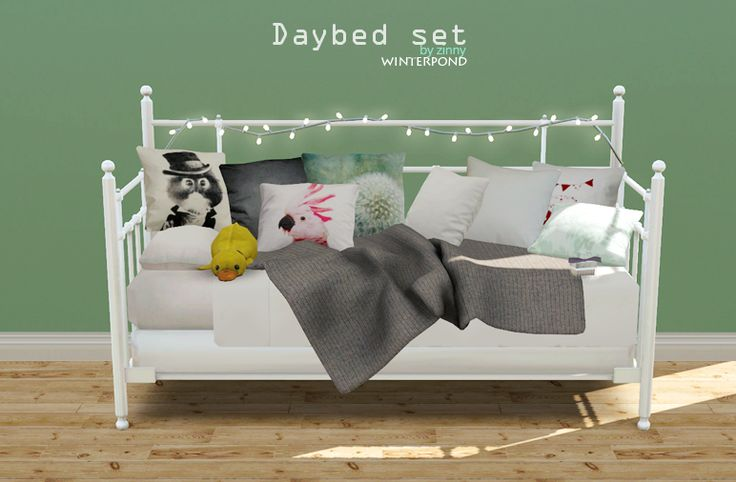 Daybed Set This Set Includes The Bed Cushions A Blanket