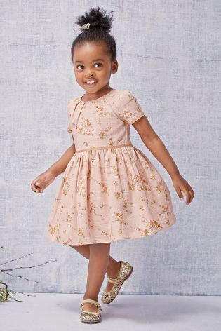 Buy Pink Floral Prom Dress 3mths 6yrs Online Today At