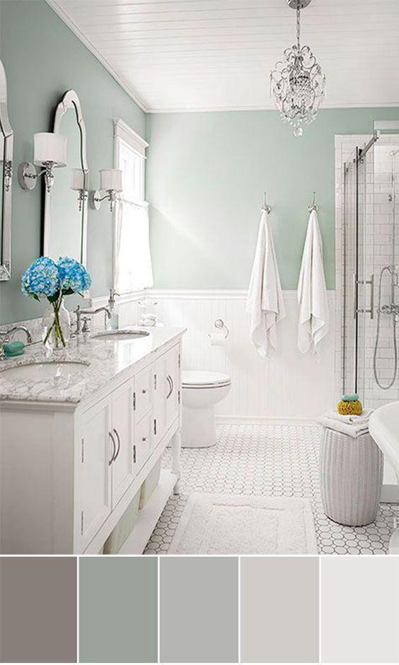 45 modern vintage bathroom decor designs ideas for 2019 rh pinterest com