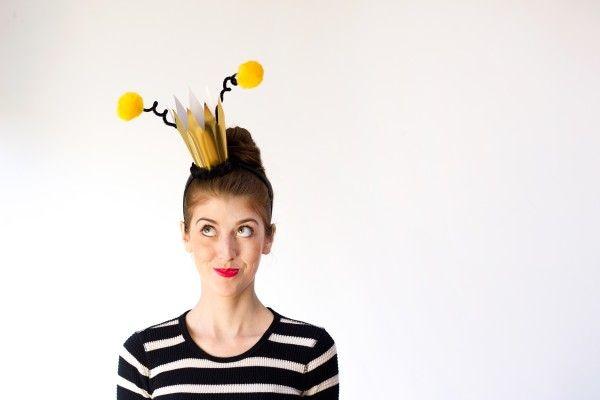 TOTALLY adorable! ::: DIY Queen Bee Halloween Costume