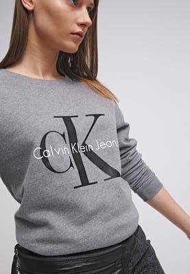 Calvin Klein Jeans Sweatshirt - grey - Zalando.se