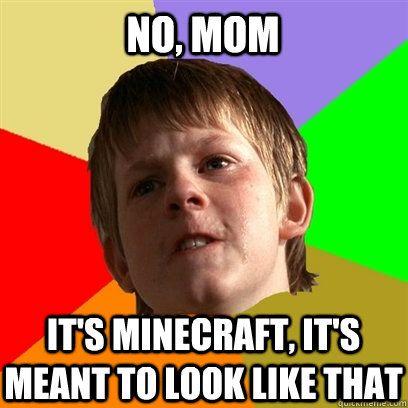 Parents just don't understand! http://www.minecraftwiz.com