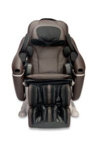 The Inada Sogno Dreamwave is a shiatsu and air pressure massage chair that's tailored to help the user relax in multiple ways. The chair is wider than other models and offers coverage of your entire back and neck. During massage sessions, the chair cradles your whole body and applies light heat and pressure to make you feel warm and secure. Over 1,200 square inches of massage coverage, extra padding, 8 motions mimic a massage therapist's movements. Fabulous