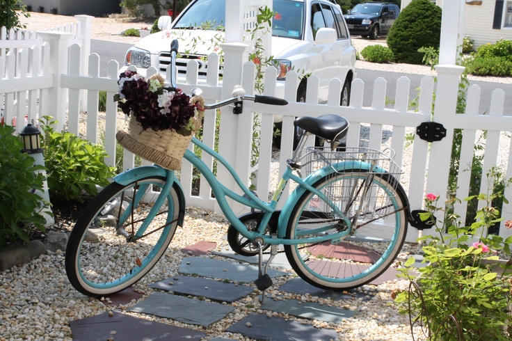 My vision - coastal town, white picket fence and ride my bike to the market!