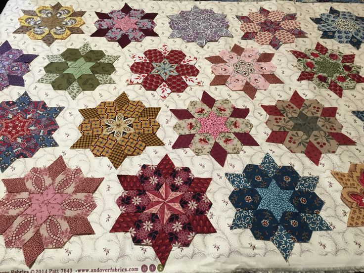 970 best english paper pieced quilts images on Pinterest | Paper ... : english quilt patterns - Adamdwight.com