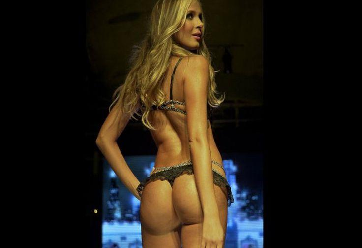 Estas hermosas modelos desfilaron en ropa interior, en Medellín.