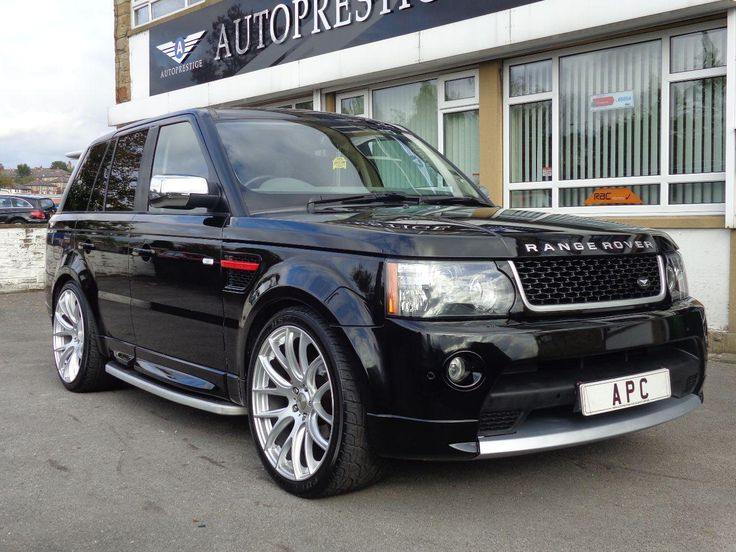 2005 Range Rover Sport 2.7 HSE TDV6 AP Customs genuine 2012 Autobiography upgrade. 4x4. Metallic Black. Click on pic shown for loads more.