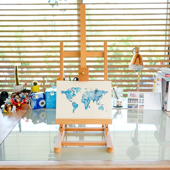 This is for a custom and completely unique, one-of-a-kind original World Map artwork!  These watercolour worlds make a wonderful gift!! Give a newborn a piece of art that will grow with them, a teenager some funky artwork to inspire them to indulge in travel, a friend or family member moving into their brand new home, a mum to remind her that she can no longer afford to travel because every last cent goes on her kids (haha, just checking if anyone was still reading!! Or maybe that mum is…