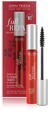 John Freida Full Repair™ Touch‑Up FlyAway Tamer ~ this stuff works really well!: Hair Products, Frieda Full, John Frieda, Hair Flyaway, Full Repair, Repair Touch Up, Flyaway Tamer, Touch Up Flyaway, Stuff Work