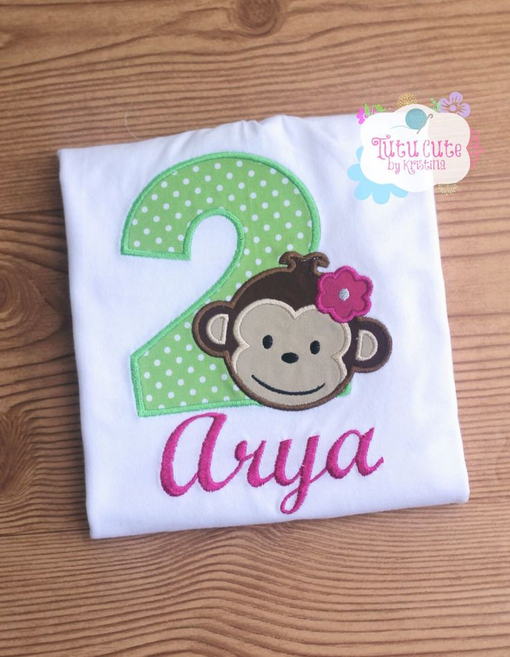 Mod Monkey Birthday shirt/Bodysuit (MADE TO ORDER and in multiple sizes) Girl Birthday Shirt, 1st birthday, Girl Shirts, Monkey Shirt by TutuCutebyKristina on Etsy https://www.etsy.com/listing/242257570/mod-monkey-birthday-shirtbodysuit-made