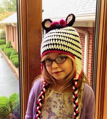 Hat, Crochet hat, zebra hat, #animalhat, children hat by #OnceUponARoll #Zibbetflash for $21.00