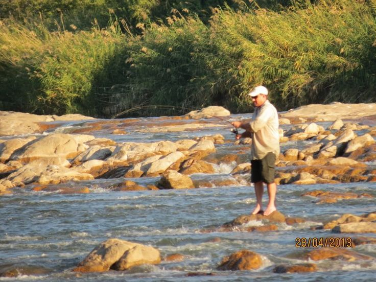 Fly fishing on Tutwa
