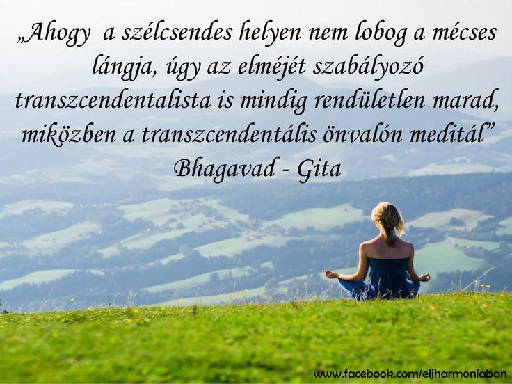 Bhagavad Gíta www.eljharmoniaban.hu