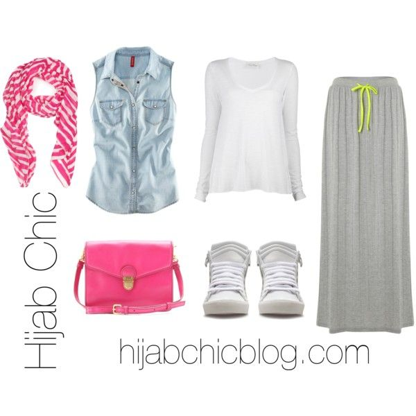 Untitled #9 by hijab-chic, via Polyvore