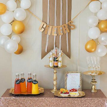 Host a Champagne Brunch