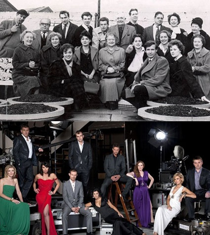 Coronation Street then and now