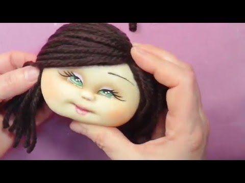 ojitos pintados a muñecas con acrilico, manualilolis,video-45 - YouTube