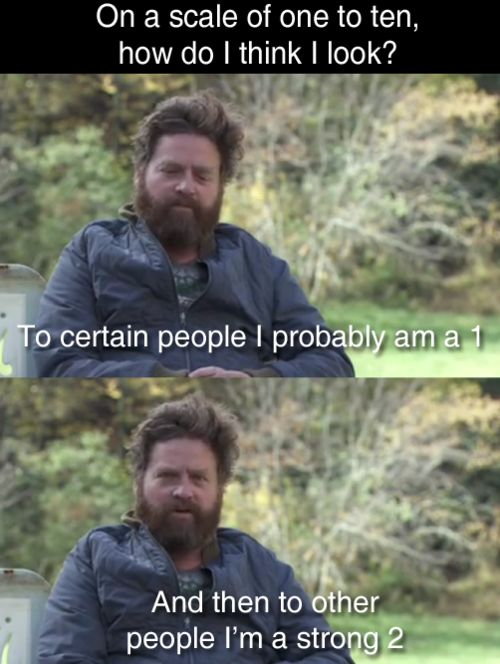 Strong 2!! <3This Man, Funny Pics, Laugh, Funny Guys, Zach Galifianakis, Funny Pictures, Self Confidence, Humor,  Tinca Tinca