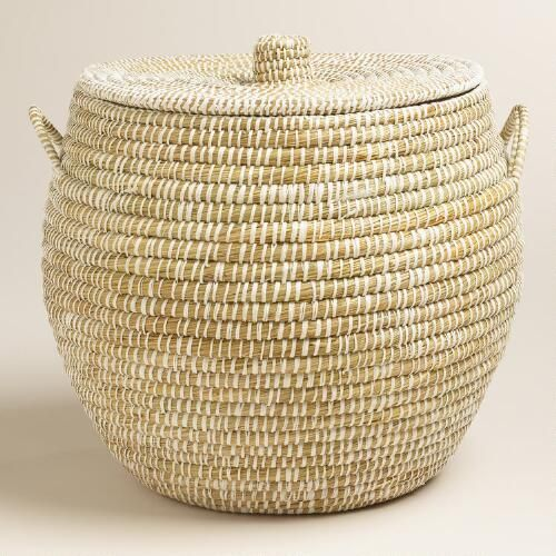 one of my favorite discoveries at large white round piper tote basket storage baskets with lidslaundry basket