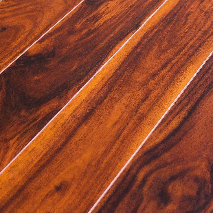 The Inhaus Exotics Tigerwood 34677 flooring is a stunning ...