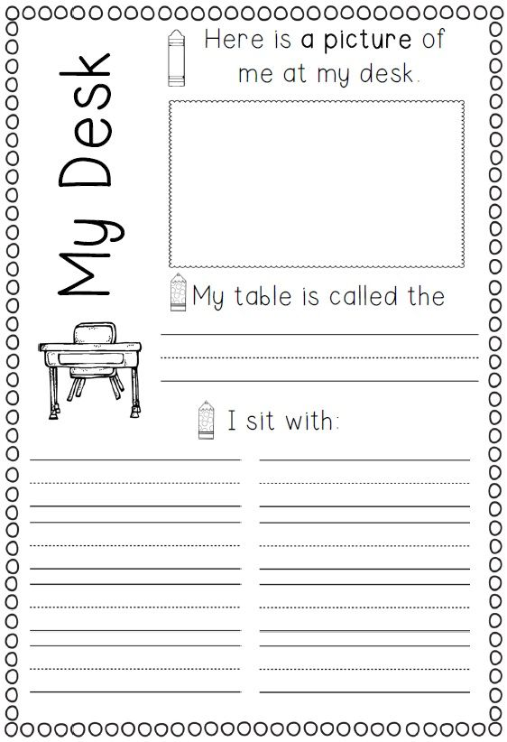 Back to School Memory Book for grades one and two  Back to school memories can now be documented with these worksheet printables and ideas.$