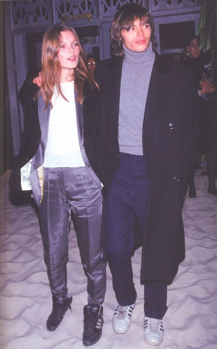 Kate Moss in the 1990s with photographer, Mario Sorrenti. Take a look at their…